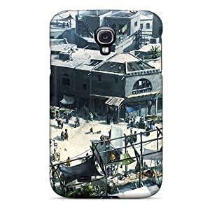 New Style Sihaicovers666 Hard Cases Covers For Galaxy S4- Assassins Creed Brotherhood City