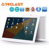Teclast X10[10.1Inches IPS Screen] Tablet PC HD Touchscreen Mic WIFI [ Android 6.0 1+16G] Octa Core Dual WIFI SIM Tablet PC,Support Games, Skype,MSN,Facebook, Twitter, etc (White)