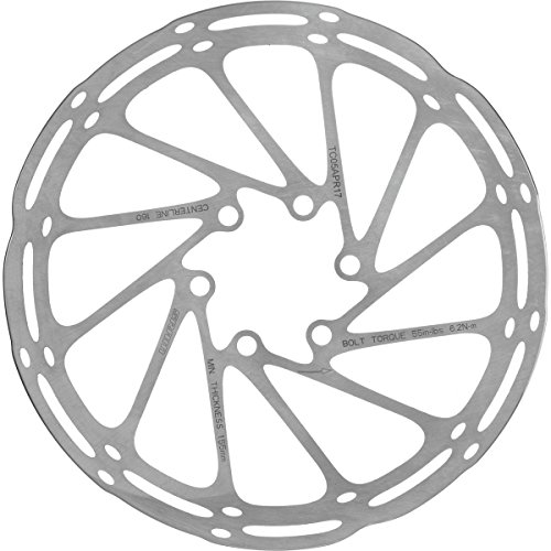 SRAM Centerline Rounded Rotor Silver, 160mm ()
