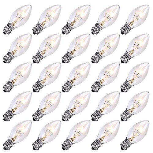 Clear Bulb Outdoor Christmas Lights in US - 2