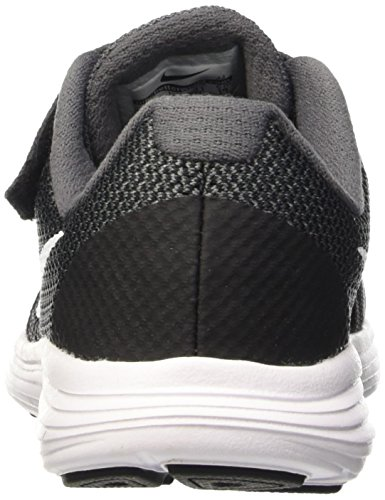 Nike Revolution 3 (PSV) Zapatillas de running, Niños Gris (Dark Grey / White / Black / Pure Platinum)