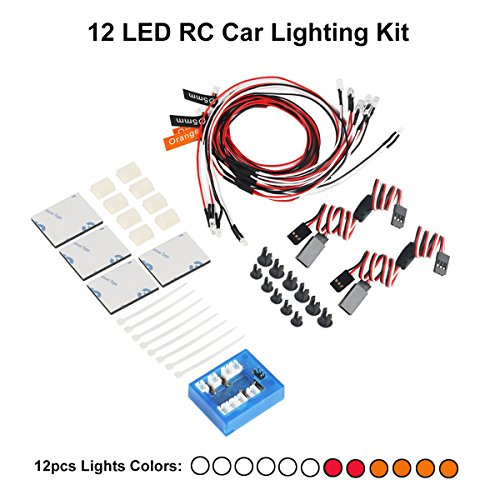 Rc Helicopter Led Light System
