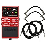 Boss RC 3 Loop Station Bundle w/4 Free Cables from BOSS
