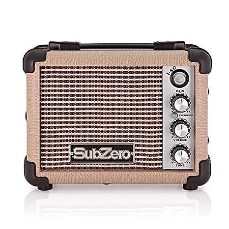 Microamplificador Subzero de Guitarra Eléctrica - Vintage Cream: Amazon.es: Instrumentos musicales
