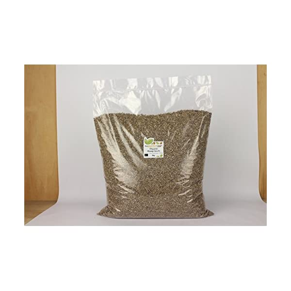 Buy Whole Foods Online Organic Hemp Seeds 5 Kg