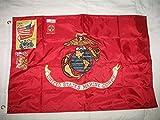 Cheap usep Embroidered Sewn 2×3 ft USMC Marine Corps Flag Solarmax Nylon Flag Double Sided