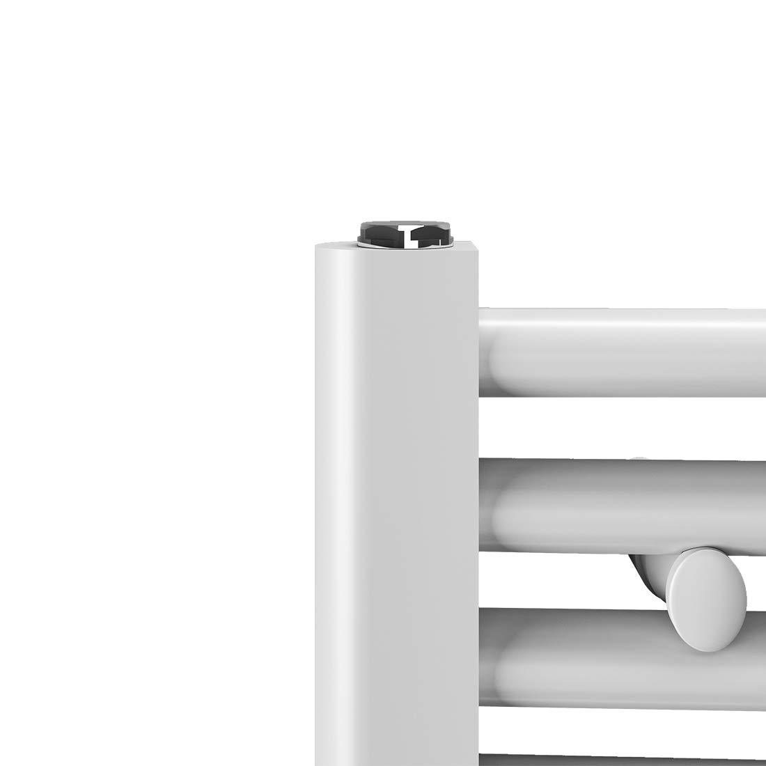 Leistung Antrazit Bad-Heizk/örper Bad Mittelanschluss Heizung Badheizk/örper Handtuchtrockner Heizk/örper 1800x600mm