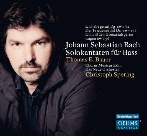 (Solo Cantatas For Bass [Christoph Spring, Thomas E. Bauer] [Oehms: OC887] by Thomas E. Bauer (2013-10-10))