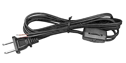 Terrific Amazon Com National Artcraft Lamp Cord With Rotary Switch And End Wiring Digital Resources Funiwoestevosnl