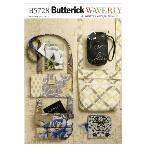 Butterick Patterns B5728 Bags and Purses, All Sizes