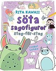 Rita Kawaii söta sagofigurer : steg-för-steg