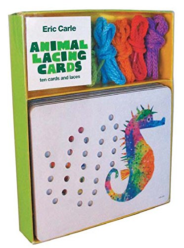 The World of Eric Carle(TM) Animal Lacing Cards