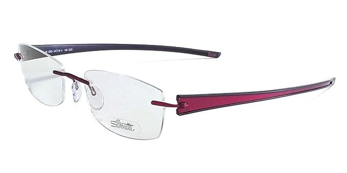 Amazon.com: Silueta Diseñador Rimless anteojos de Lectura ...