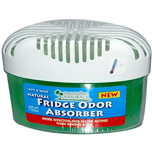Price comparison product image Fridge Odor Absorber: The Premium,  Naturally Air Purifying,  Absorbent Odor Eliminator and Deodorizer for your Refrigerator. 3X More Powerful and Effective Freshener than Baking Soda (case of 4 units)