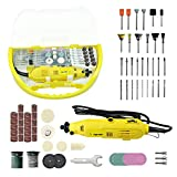 Rotary Tool, Longmate Advanced Rotary Tool Kit Multi-functional Rotary Tool Set with 118 Accessories Kit for Cutting, Grinding, Sanding,and Crafting Projects
