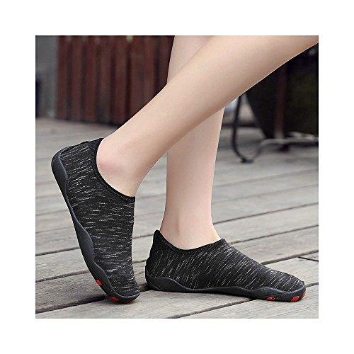 Snorkel El Estera Anti La para Suaves Natación del Zancudas Piel Zapatos Parejas Zapatos Zapatos Descalzo Naranja Yoga Cuidado Zapatos Skid Playa JUNHONGZHANG De tdTxqt