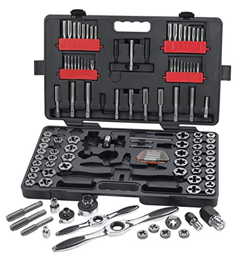 GearWrench 114PC 82812 Ratcheting Tap and Die Drive Tool Set
