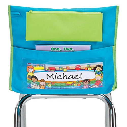 Early Childhood Deluxe Chair Pocket, Teal - Set Of 36