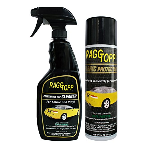 RaggTopp Fabric Conv. Top Cleaner / Protectant Kit
