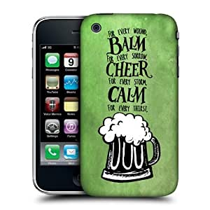 Head Case Designs Beer Irish Craic Hard Back Case Cover For Apple iPhone 3G 3GS