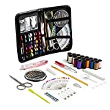 QOJA 91pcs portable sewing kit home travel emergency professional
