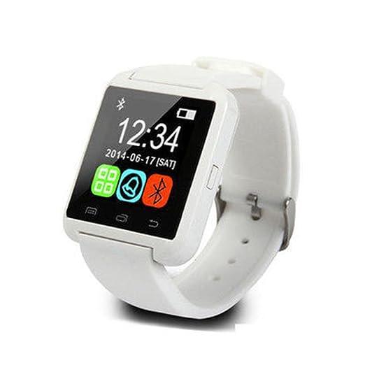 FastDirect Reloj Actividad de Pulsera Inteligente Bluetooth 3.0 Reloj Deportivo Pulsometro con USB 2.0 para Hombres, Mujeres, Unisex.