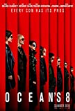 OCEAN'S 8 MOVIE POSTER 2 Sided ORIGINAL Advance 27x40 SANDRA BULLOCK OLIVIA MUNN