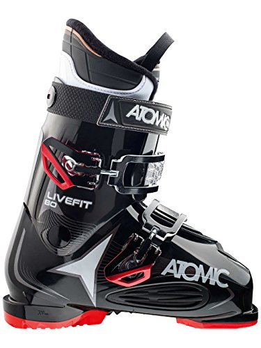 Atomic Men's Live Fit 80 Ski Boots - 26.5 - BLACK