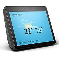 Echo Show (2. Gen.) Premiumlautsprecher mit brillantem 10-Zoll-HD-Display, Schwarz