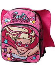 Mattel Barbie Super Sparkle 16 inch Backpack with Side Mesh Pockets