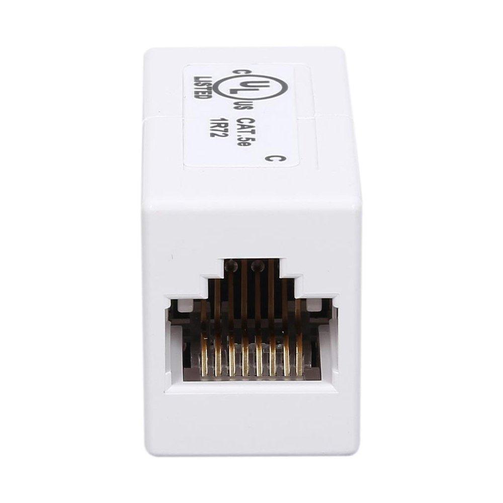 Belkin Rj45f Straight Cat5 Rated Modular Coupler Cat 5e Wiring Diagram White Electronics