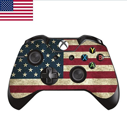 Cool Designer Skin USA National Flag Sticker For X BOX Controller Cover