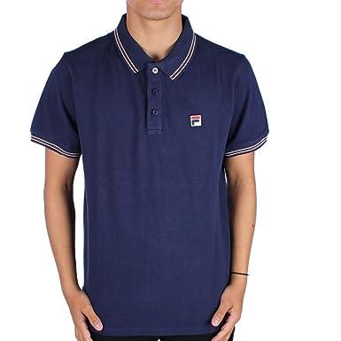 Fila Vintage Classic Tipped Polo Shirt Navy 4XL: Amazon.es: Ropa y ...