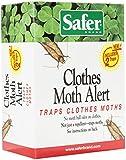 Safer Brand Clothes Moth Alert Trap(2 Pack)