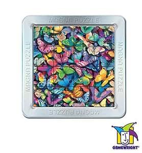 Butterflies 3-D Magnatile Puzzle