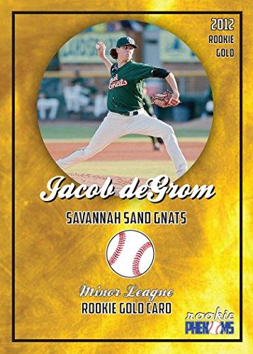 JACOB DEGROM MINOR LEAGUE ROOKIE CARD 2012 Savannah Sand Gnats