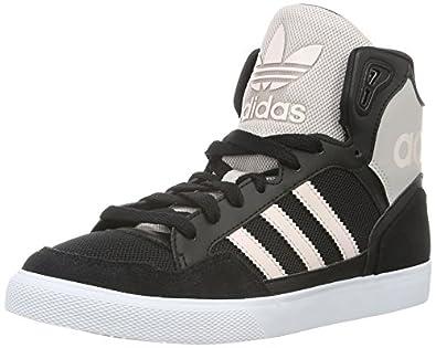 adidas donne extaball w, nero / grigio / rosa moda