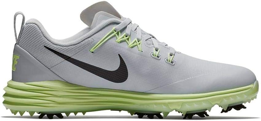 Nike Wmns Lunar Command 2, Zapatillas de Golf para Mujer, Plateado (Plata/Negro/Verde 002), 40 EU: Amazon.es: Zapatos y complementos