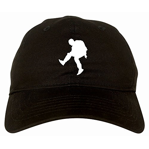 Kings Of NY Rap Performance Silhouette 6 Panel Dad Hat Cap Black