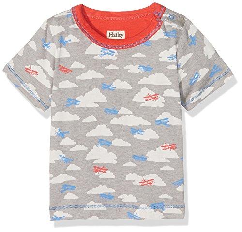 Hatley Baby Boys' Graphic Tee Shirt, Planes, 9-12M (Plane Graphics)