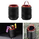 hiking water filter nz WALLER PAA Portable 4L Car Bucket Folding Fishing Water Storage Box Trash Container