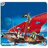 Playmobil - 4444 - Chaloupe des pirates