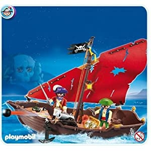 playmobil pirate dinghy toys games. Black Bedroom Furniture Sets. Home Design Ideas