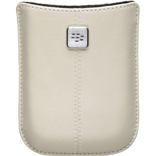 - BlackBerry Leather Pocket for BlackBerry Storm 9530 - Oyster - Bulk Packaging