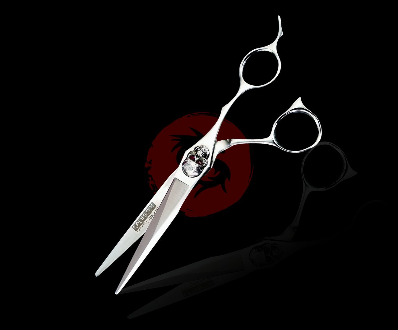 Kamisori Tsunami 6.0'' Hair Cutting Shear / Scissor (T-1) - Molybdenum Japanese Steel -Authorized Distributor
