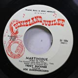 teddy buckner 45 RPM martinique / sweet georgia brown