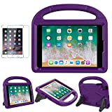 iPad Mini 1/2/3/4 Case for Kids, SUPLIK Shockproof Protective Handle Bumper Stand Cover