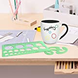 SIQUK 9 Pieces Drawings Templates French Curve