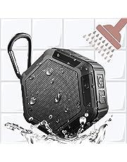 Shower Speaker Mini Wireless Bluetooth,Waterproof 15Hour Playtime Rechargeable, 5W Enhanced Bass Portable …