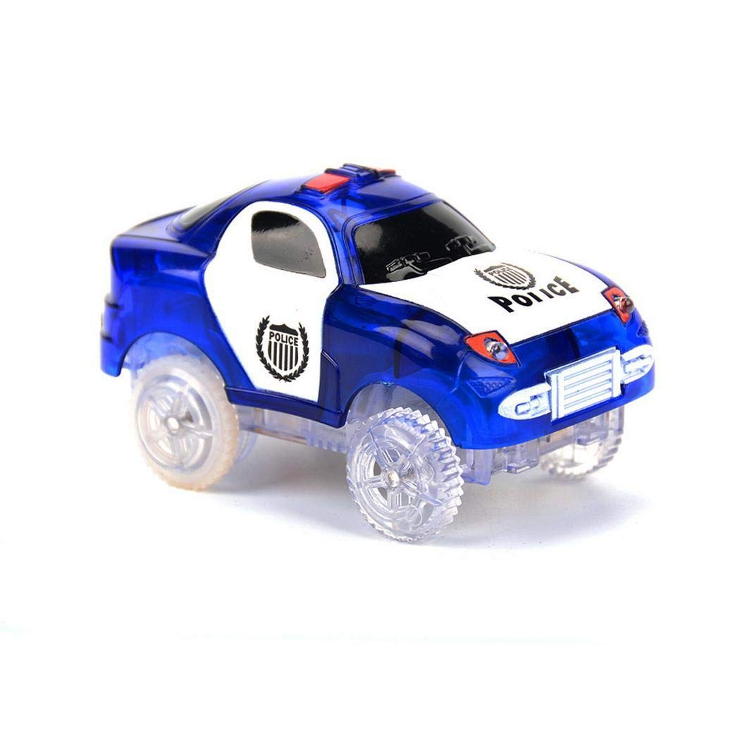 Youcoco Children Toy Automatic Mini Electric Luminous Track Toy Car (Ordinary Car)